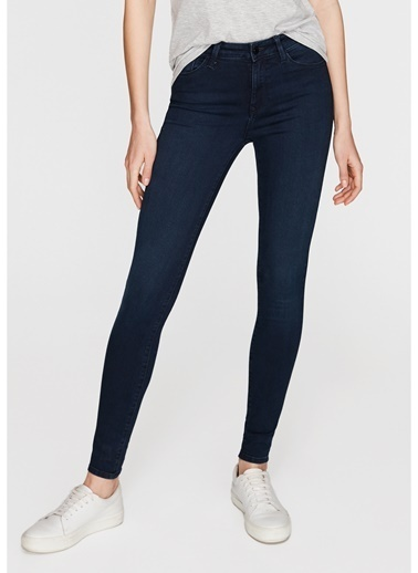 Mavi Jean Pantolon | Alissa - Super Skinny Lacivert
